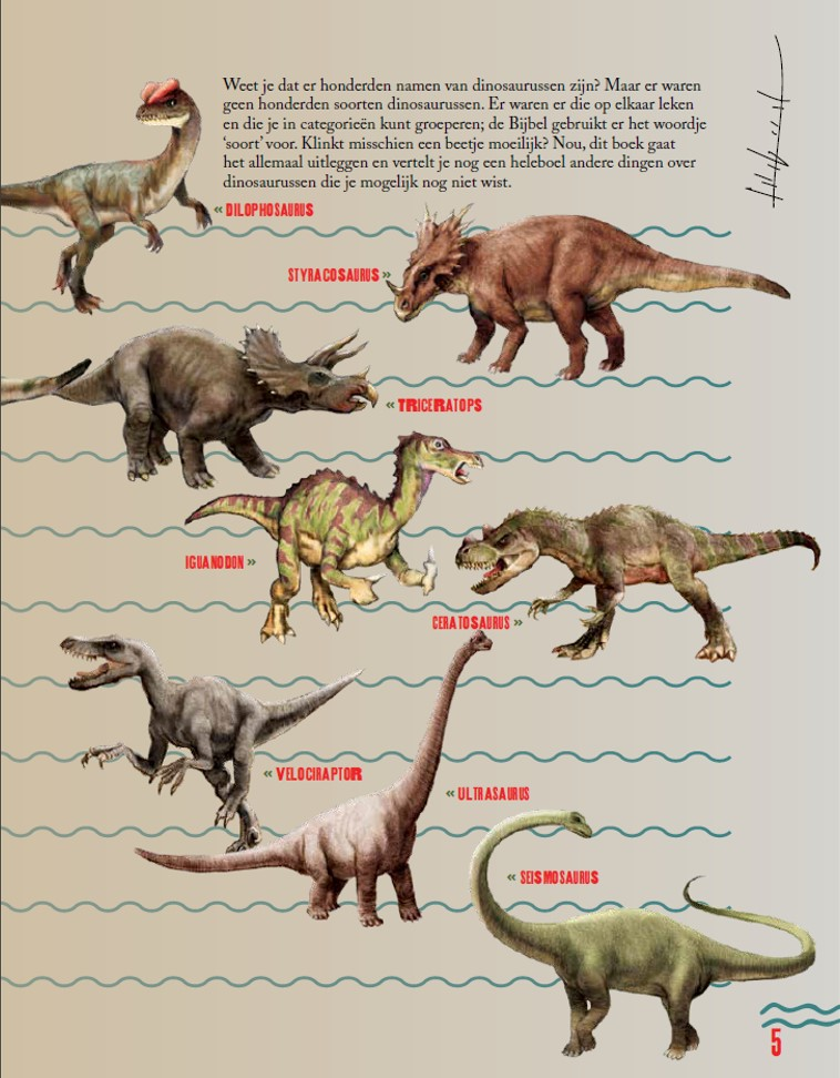 dinosaurussen voor kids - ken ham